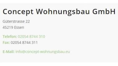 Unternehmen Concept Wohnungsbau GmbH