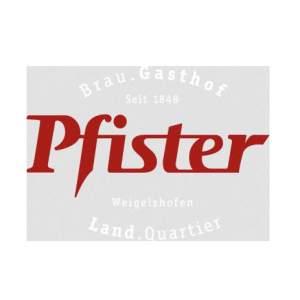 Firmenlogo von Brauerei Gasthof Pfister GmbH