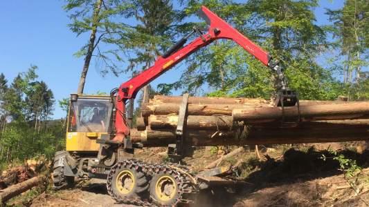 Unternehmen Forstunternehmen Mathias Möller